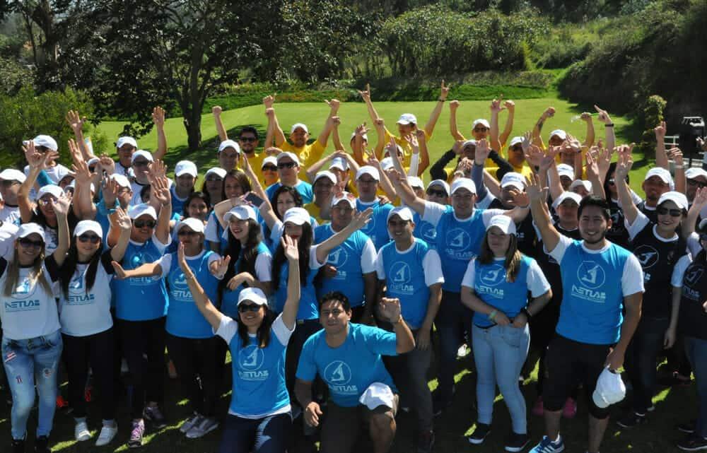 Evento de Motivación y Trabajo en Equipo – NETLAB (Quito)