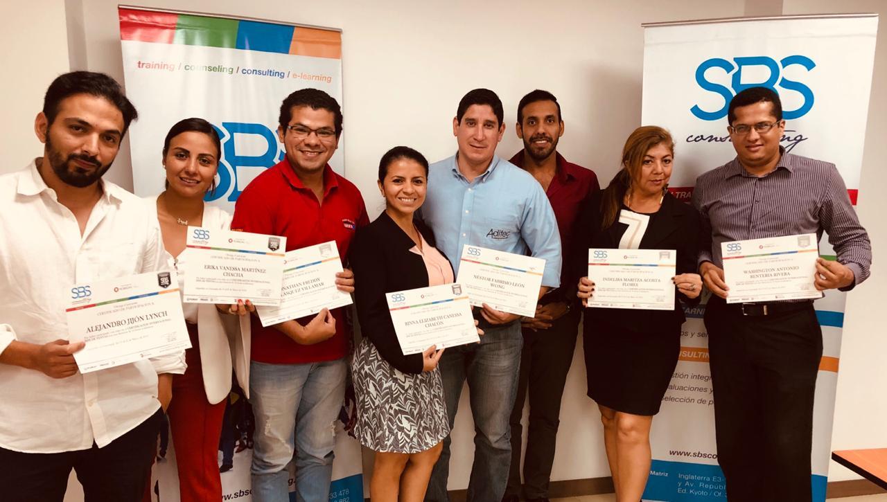 Certificación Internacional: Jefe de Ventas (Guayaquil)