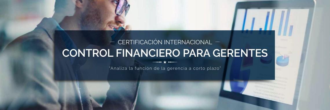 Certificación Internacional Control Financiero para Gerentes