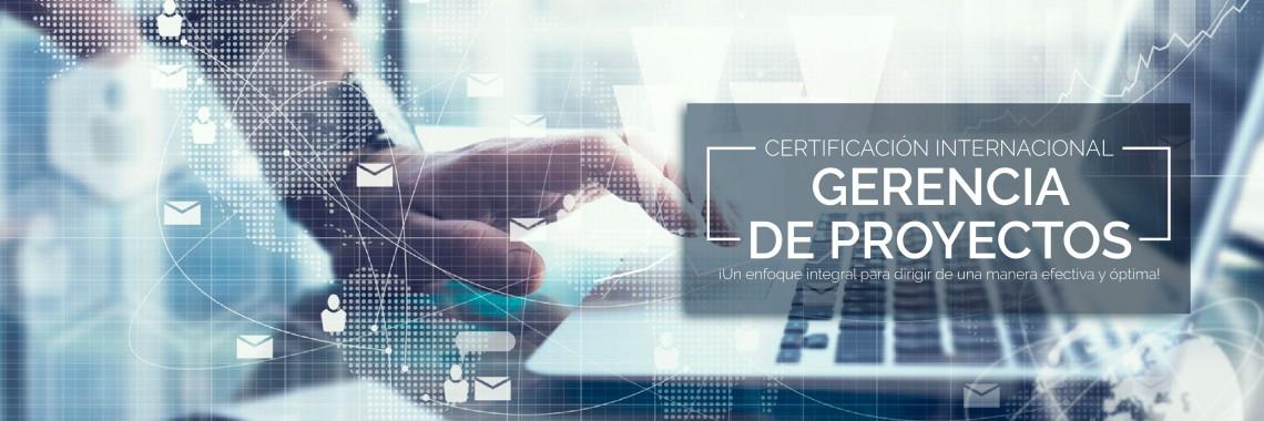 Certificación Internacional en Gerencia de Proyectos