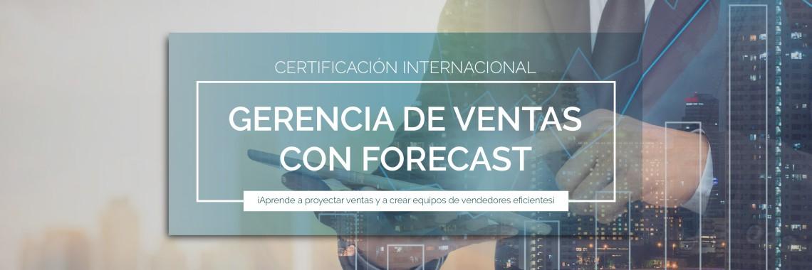 Certificación Internacional en Gerencia de Ventas con Forecast