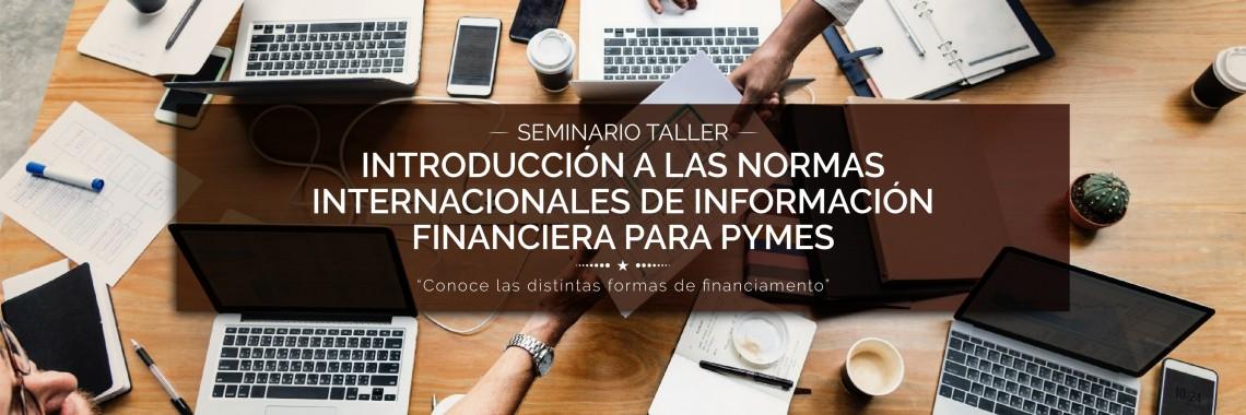 Introducción a las Normas Internacionales de Información Financiera para PYMES