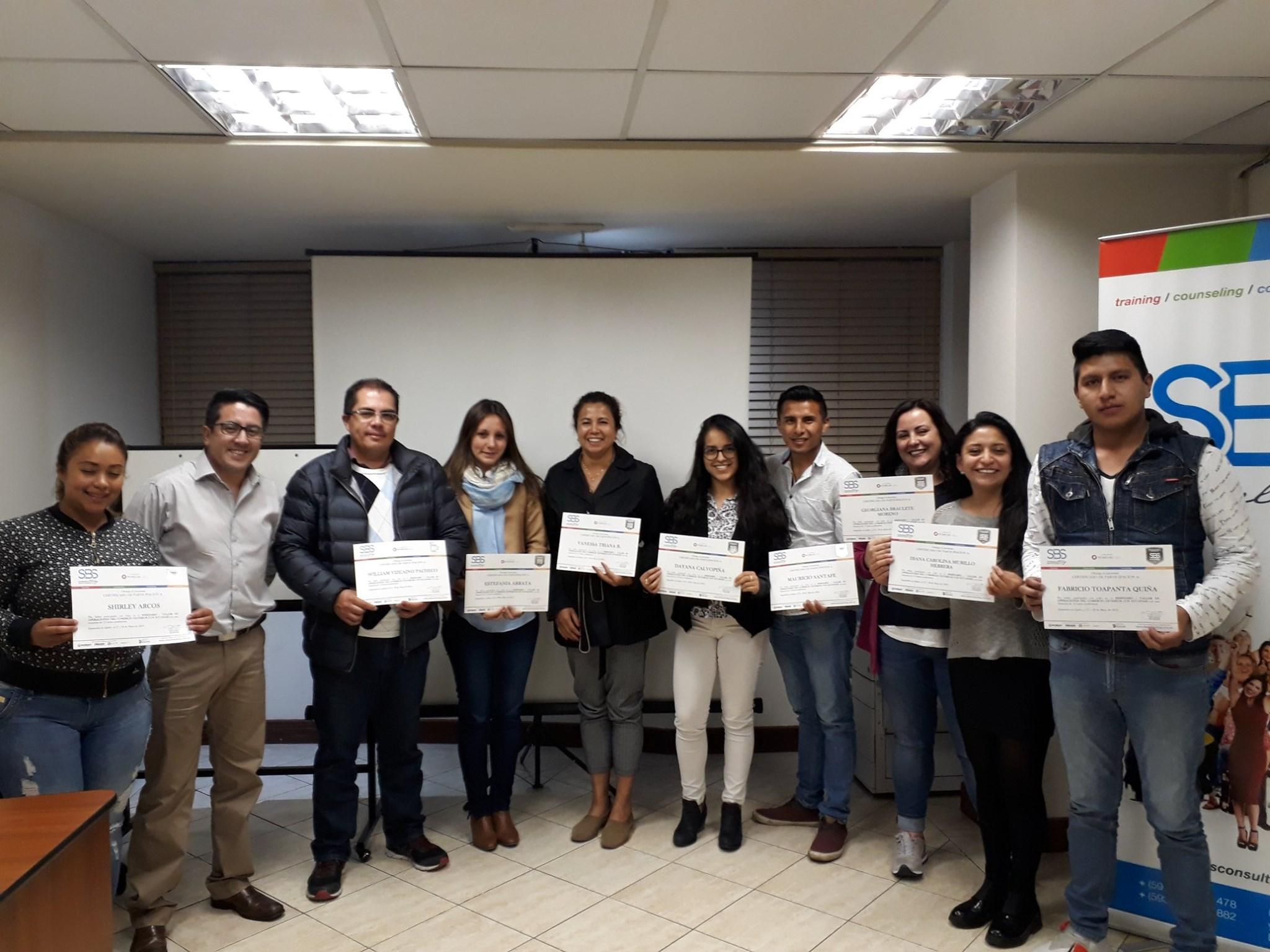 Operaciones del Comercio Exterior con ECUAPASS (Quito)