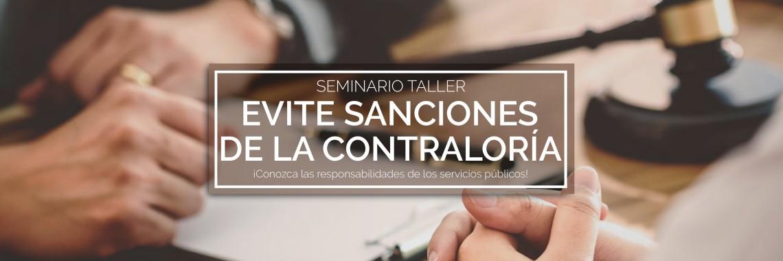 Seminario Taller Evite sanciones de la Contraloría