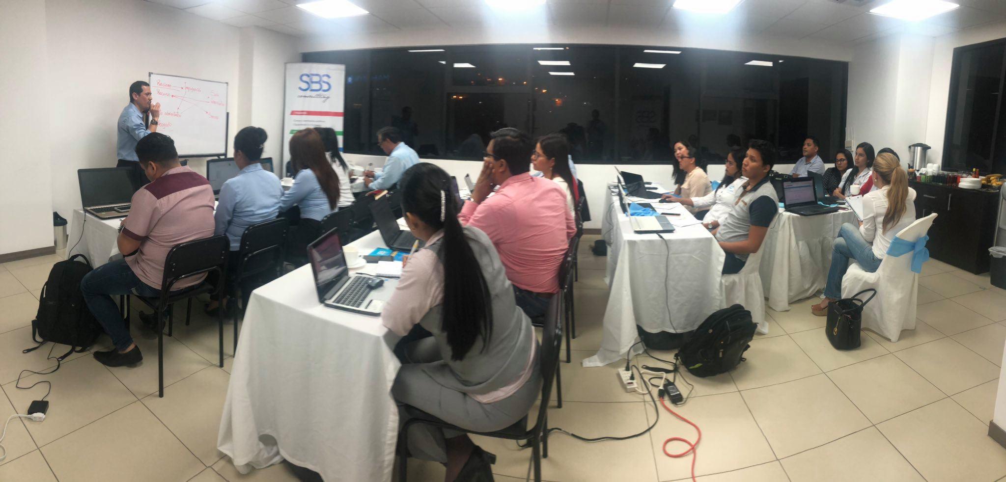 Seminario Taller de Compras Públicas y MFC Guayaquil