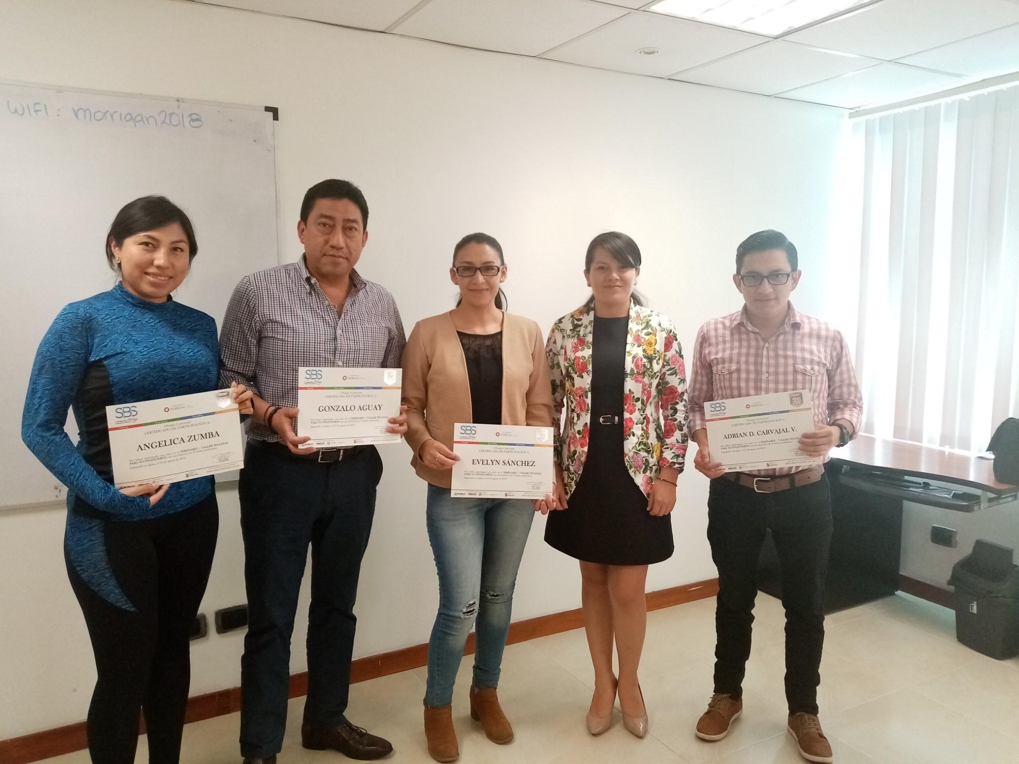 Seminario Taller: Finanzas Para No Financieros (Quito)